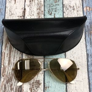 Italy! Ray-Ban Aviator RB3025 Sunglasses/TIE548